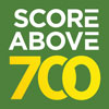 Score above 700